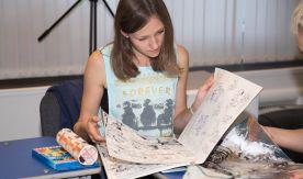Мастер-класс для студентов-дизайнеров ВГУЭС: графика и комиксы