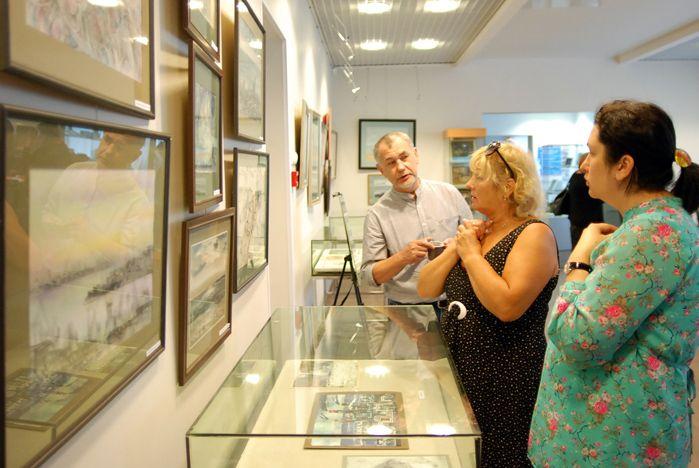 Музей ВГУЭС приглашает на персональную выставку графика Александра Шалагина