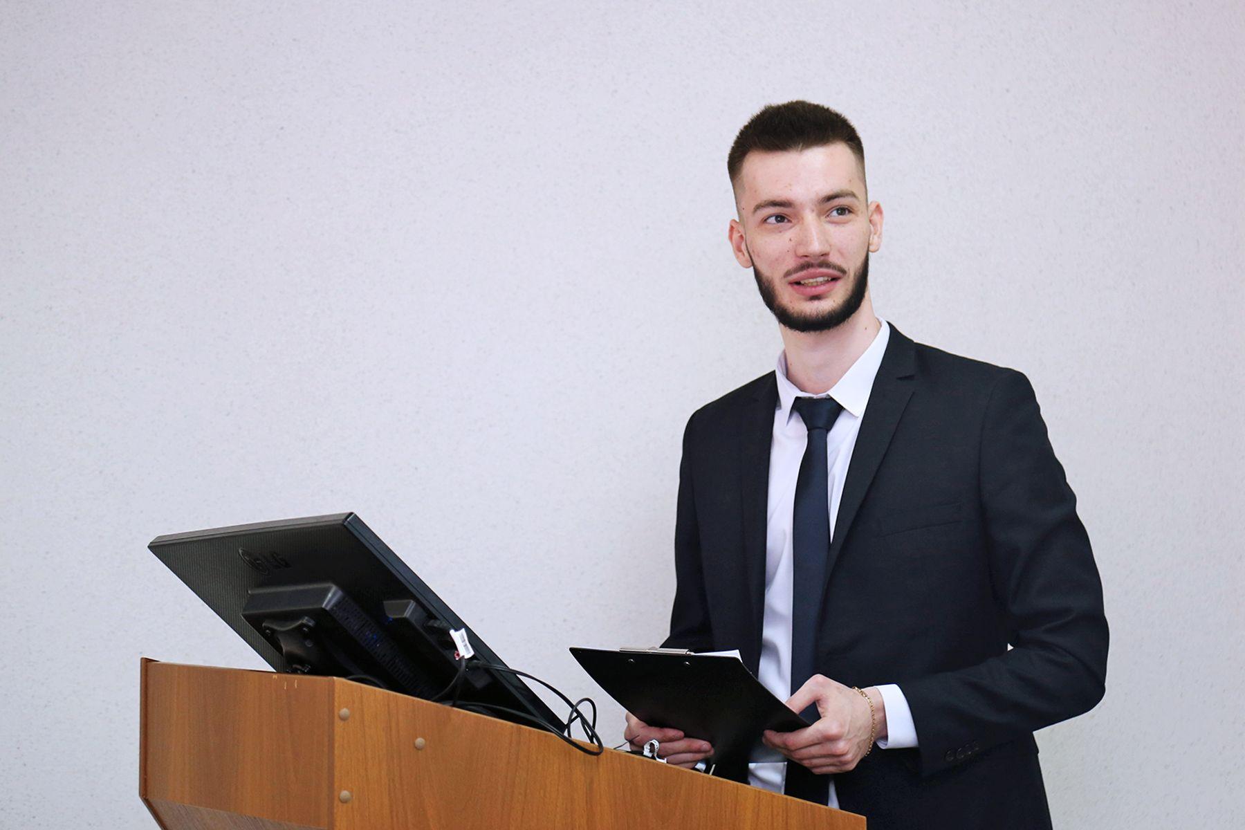 Выпускник ВГУЭС — 2020 Эрик Чудаев: хотелось бы продолжить обучение и построение карьеры в своем университете
