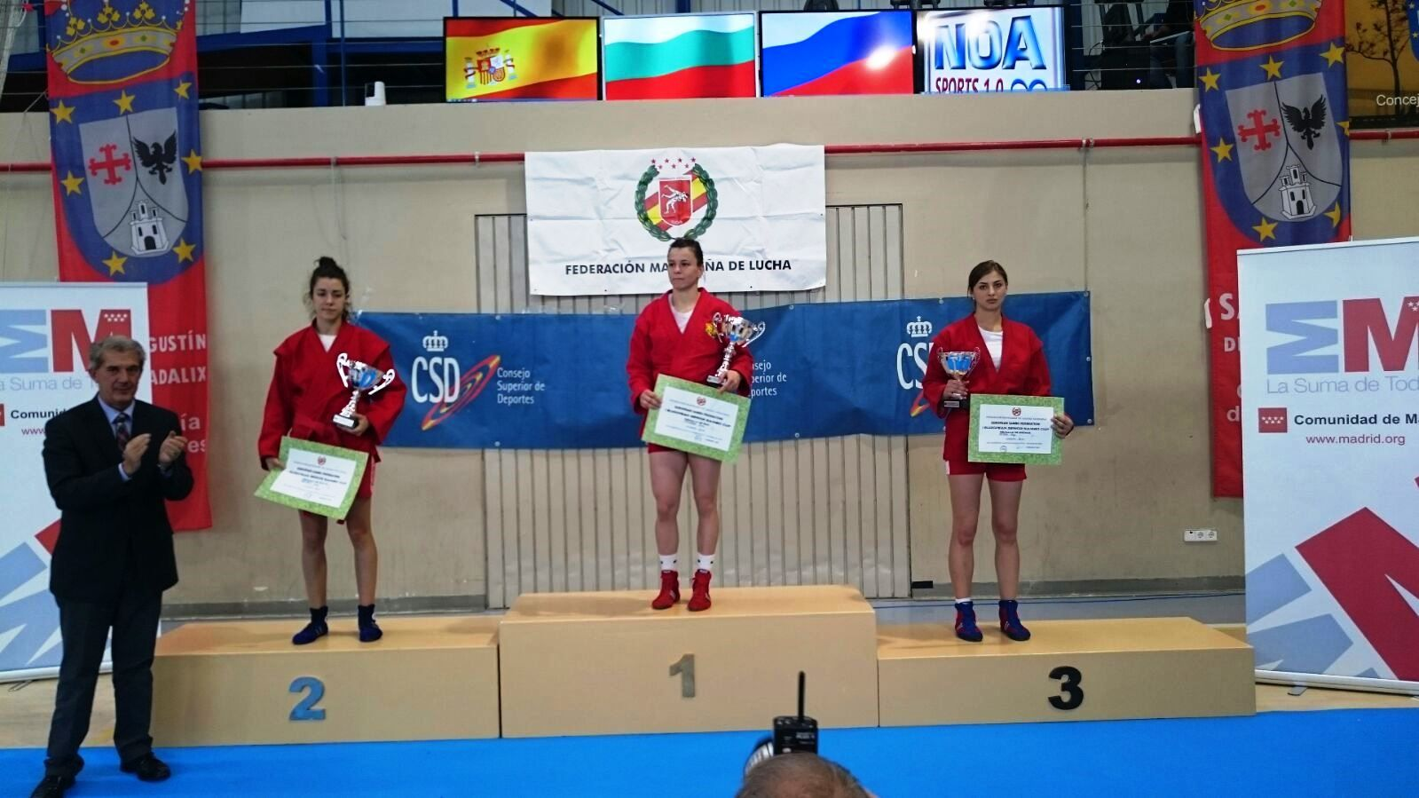 Студентка ВГУЭС Ольга Митина – бронзовый призер Первого Кубка Европы по самбо среди женщин