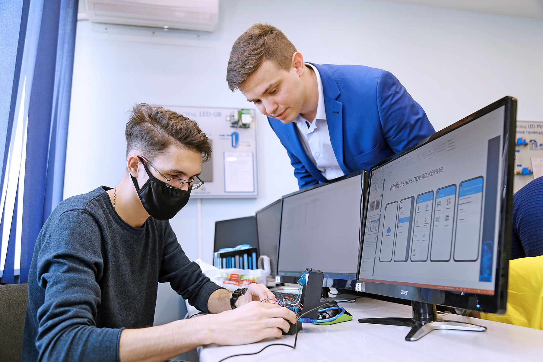 Интернет вещей на IT-вышке. Новые проекты студентов и сотрудников.