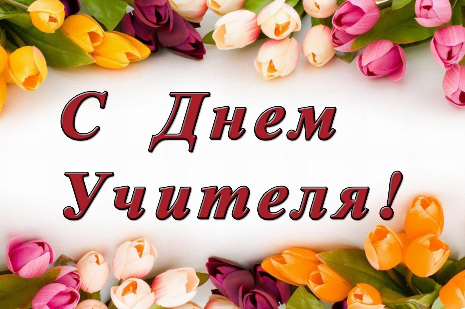 Поздравление ректора и президента ВГУЭС с Днем учителя