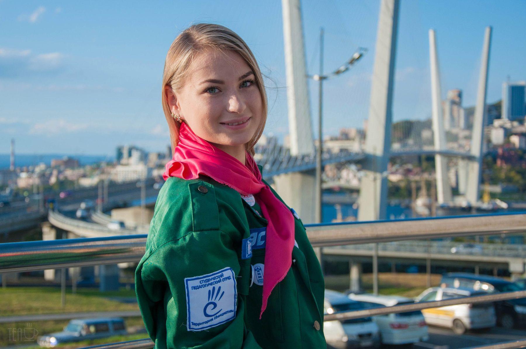 Анна Дегтярёва, студентка Кафедры управления: «Слёт студенческих отрядов – это творчество и новые знакомства»