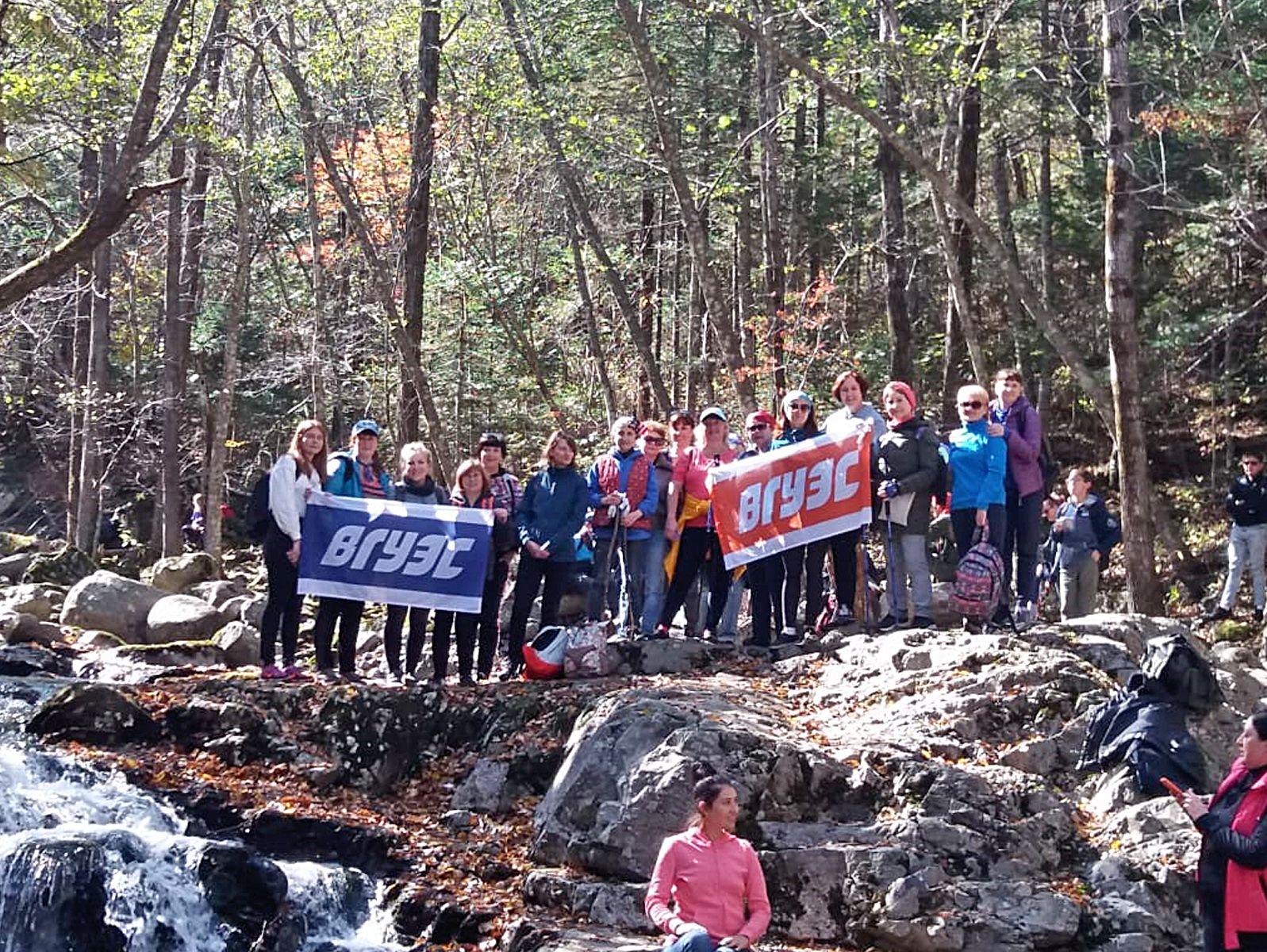 Маршрут выходного дня коллектива ВГУЭС: прогулка к Смольным водопадам