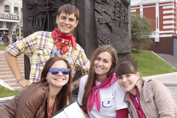 Педагогический отряд «Территория инициативы» ВГУЭС принял участие в исторической игре «Поколение next»