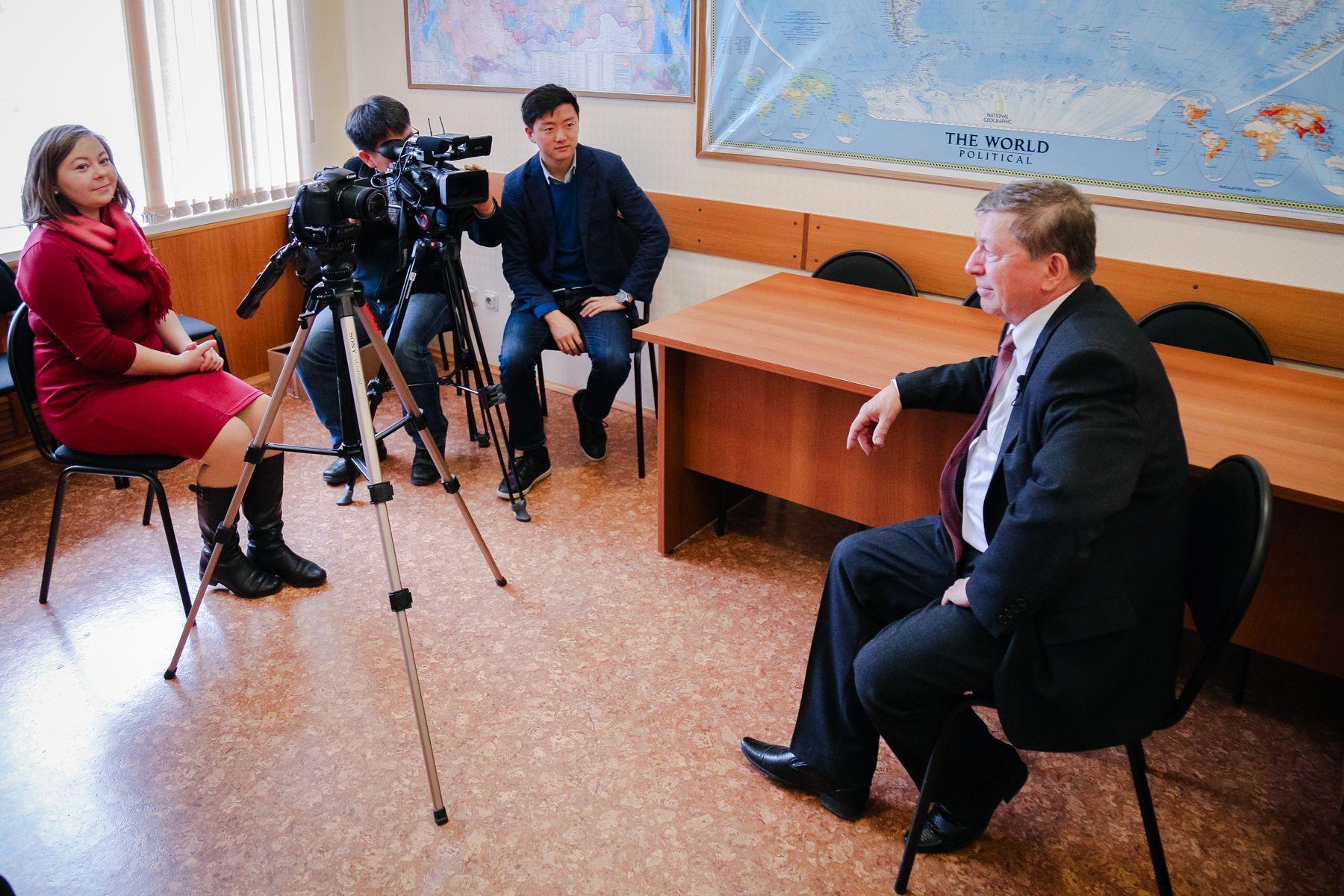 Интервью с профессором ВГУЭС Александром Латкиным увидят в 200 странах мира