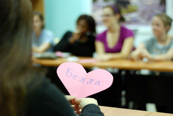 Состоялось знакомство иностранных и русских студентов ВГУЭС