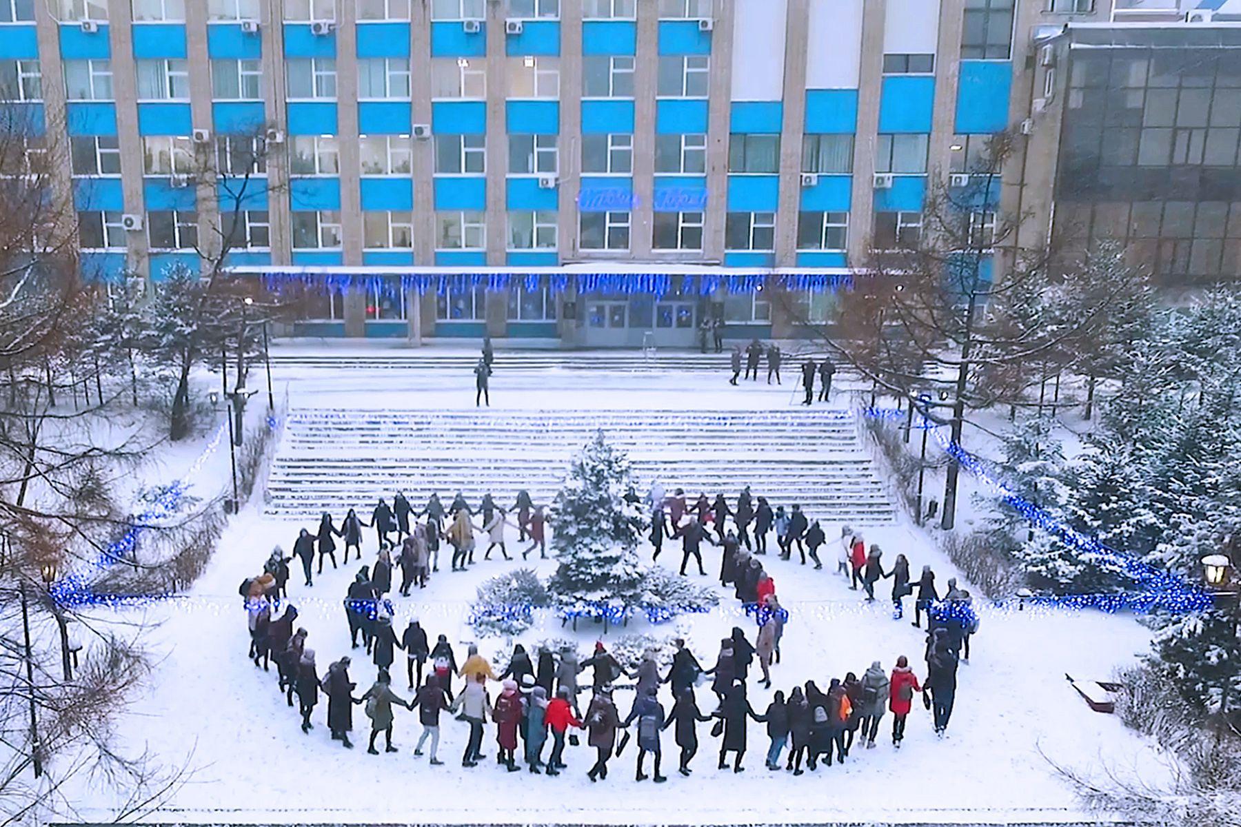Премьера видеопроекта Высшей школы телевидения ВГУЭС – «Метель»
