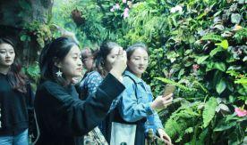 International students visited Aquarium