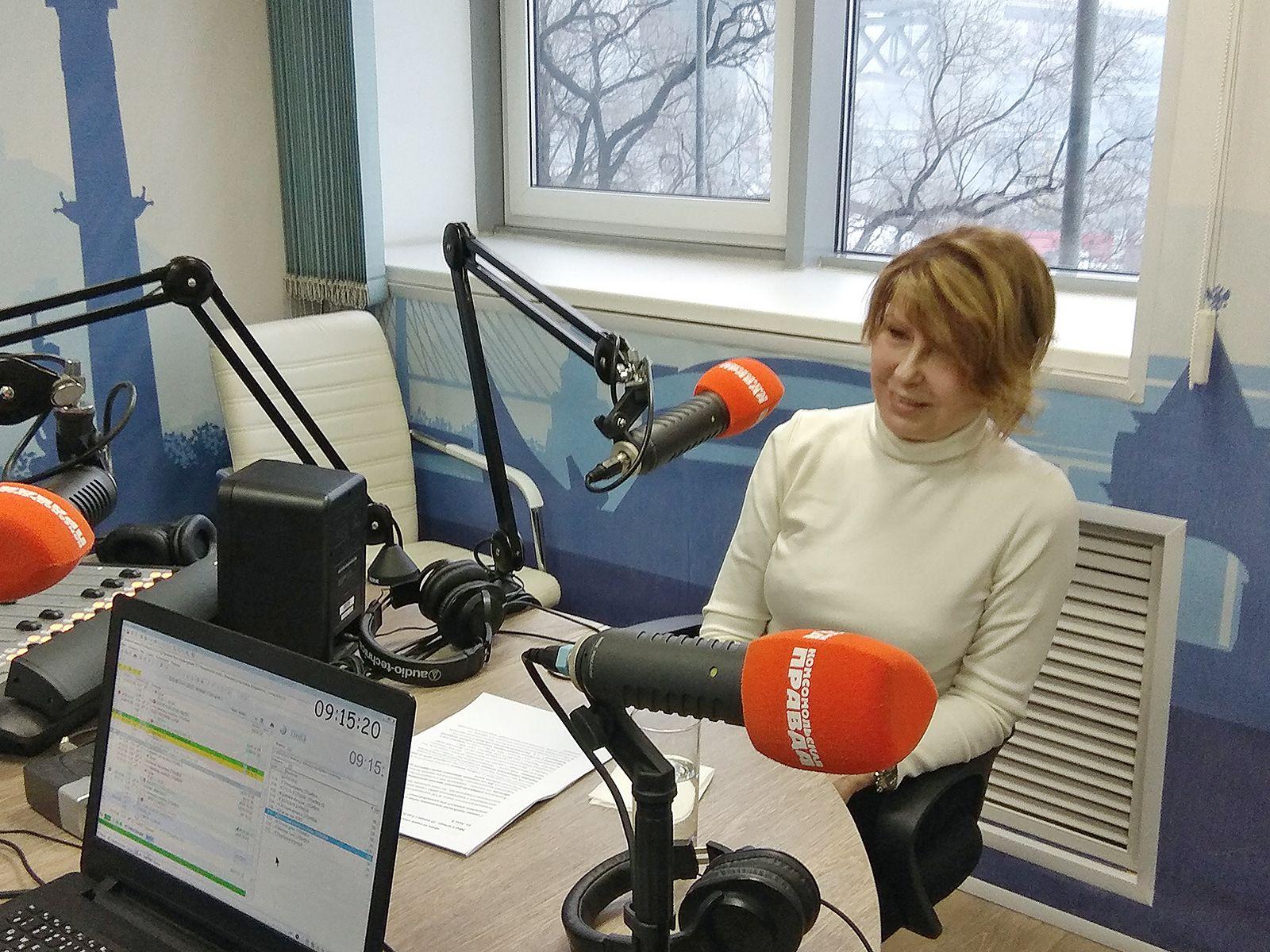 О профессиях будущего рассказала Татьяна Терентьева, ректор ВГУЭС в эфире радио «Комсомольская правда»