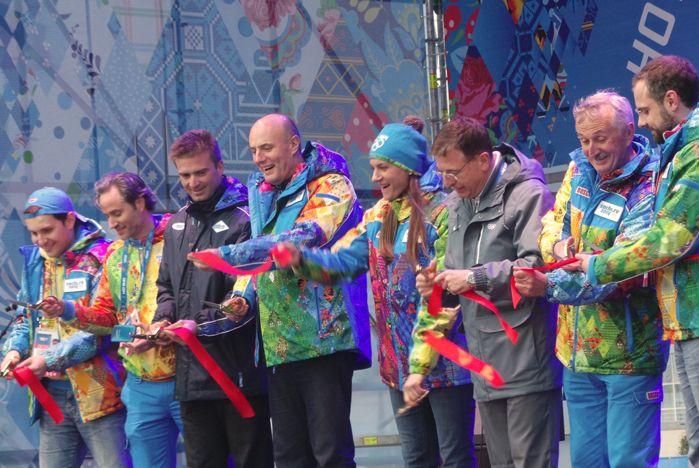 Волонтеры ВГУЭС побывали на открытии олимпийских деревень