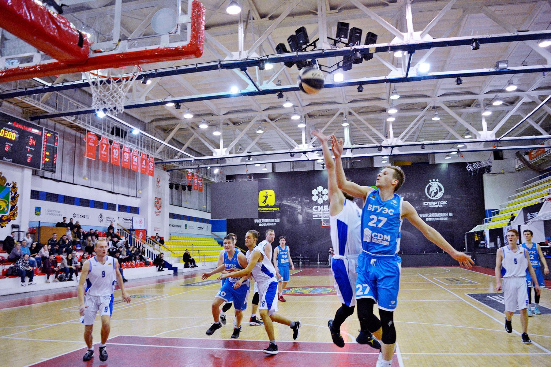Баскетбольная команда ВГУЭС – серебряный призер чемпионата АСБ дивизиона Приморье