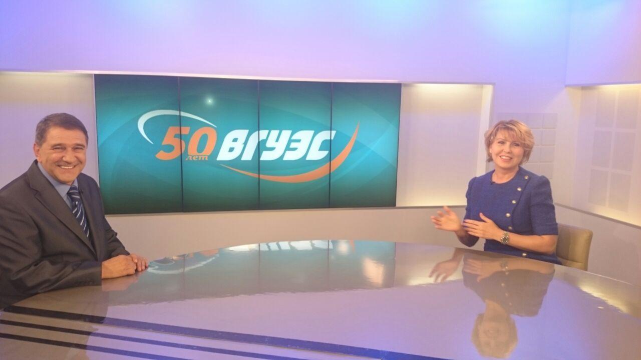 Ректор ВГУЭС Татьяна Терентьева – в эфире ГТРК «Владивосток»