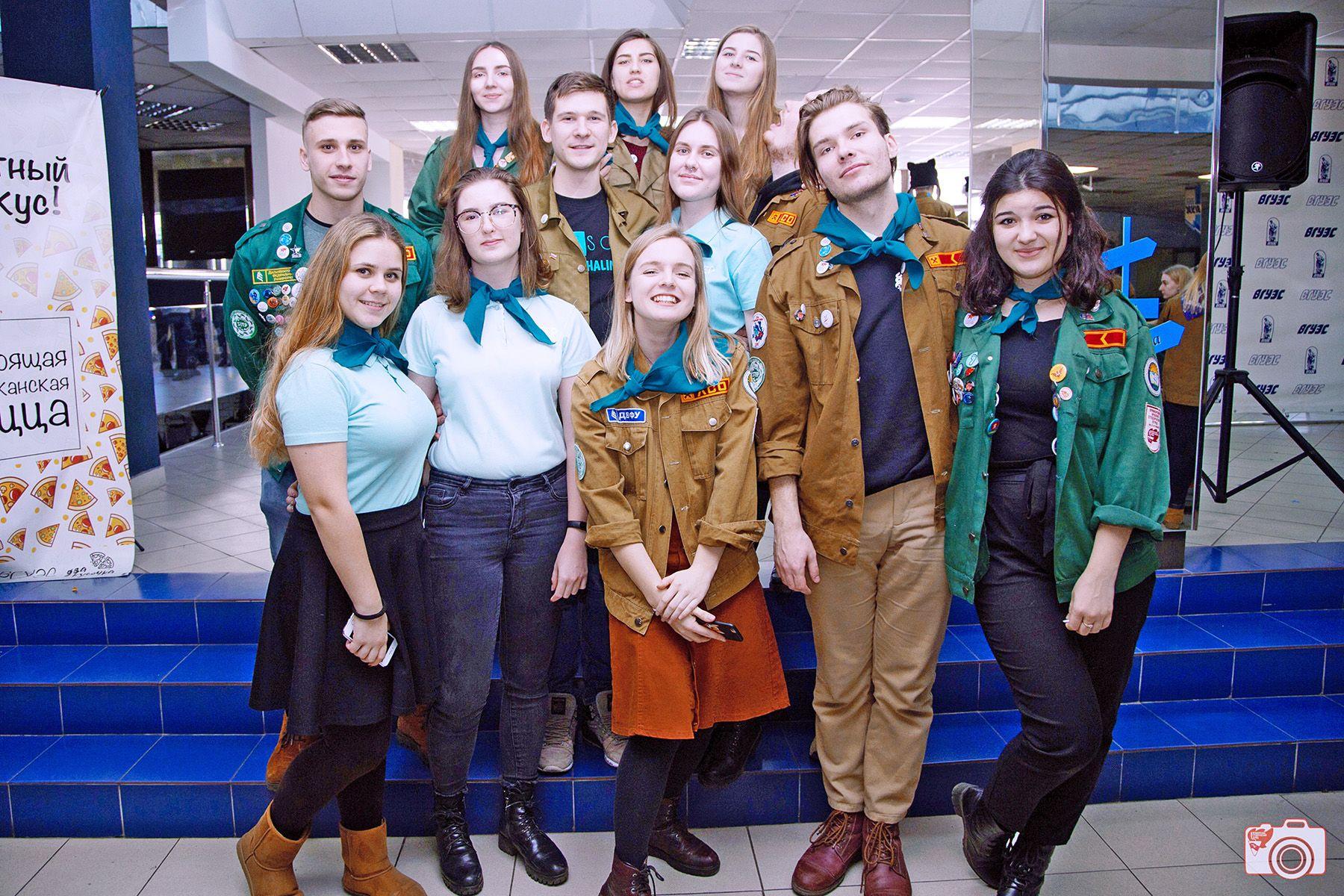 Студенты ВГУЭС вступили в «Снежный десант»