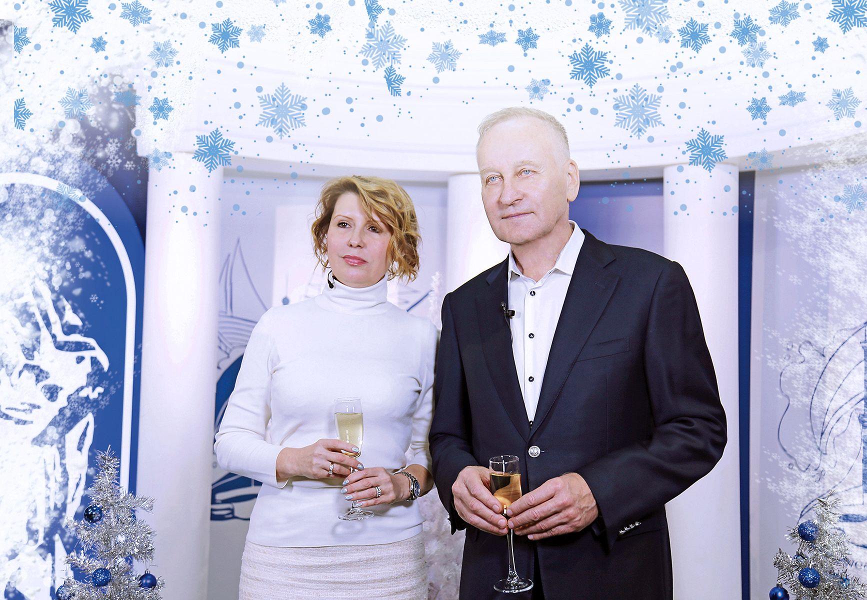 Поздравление ректора и президента ВГУЭС с Новым 2020 годом!