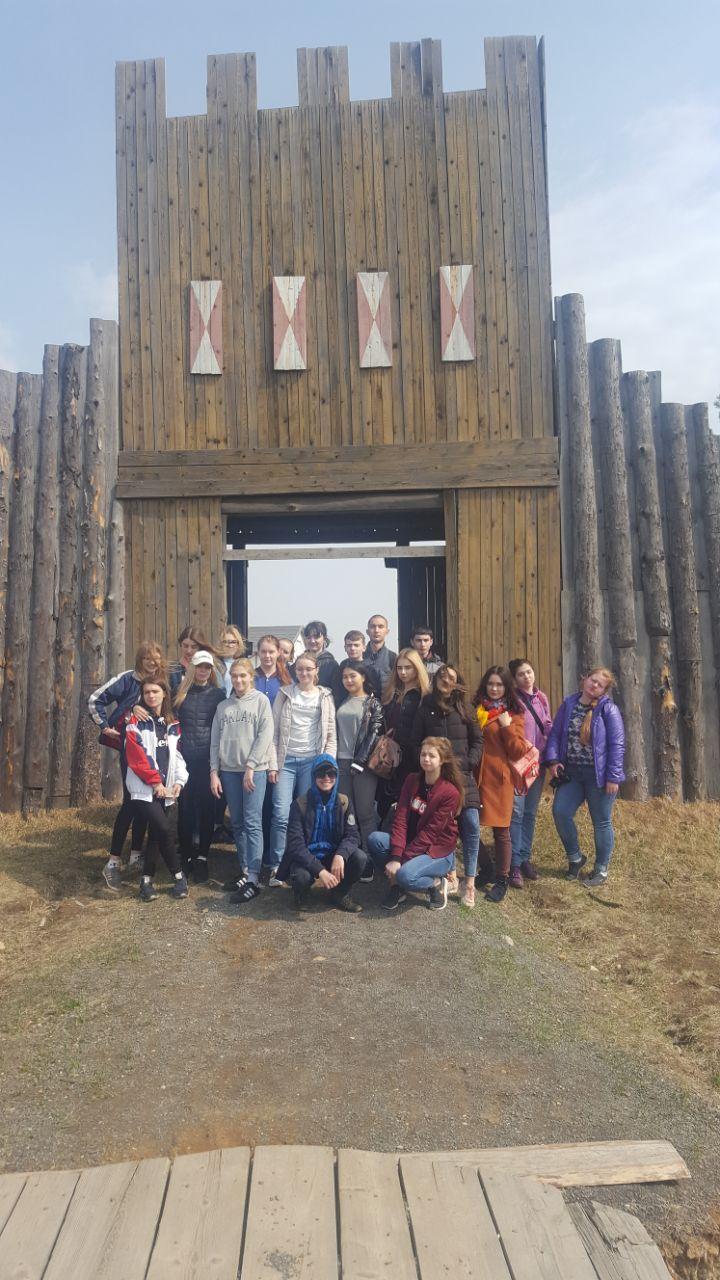 Студенты Академического колледжа ВГУЭС посетили русский исторический парк семейного и детского отдыха
