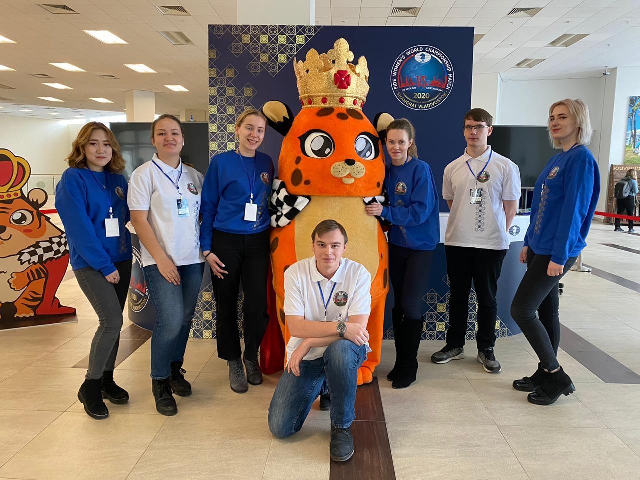 Волонтерская работа на чемпионате мира по шахматам