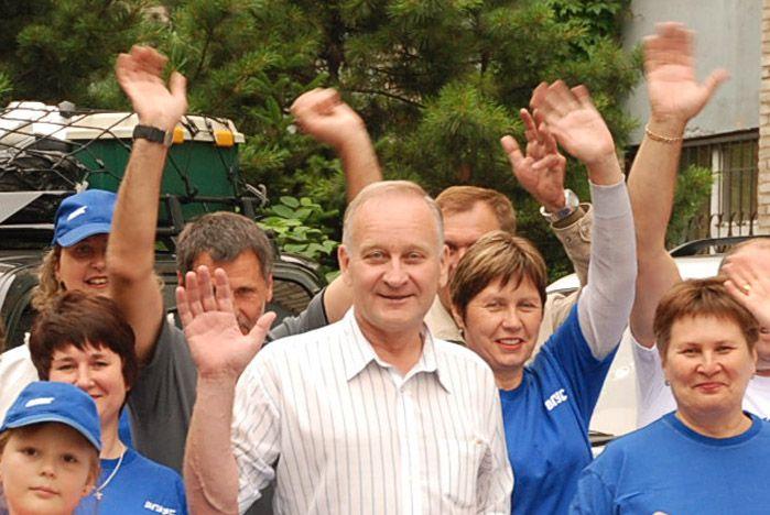 Поздравление ректора ВГУЭС Г.И. Лазарева с Всемирным днем туризма