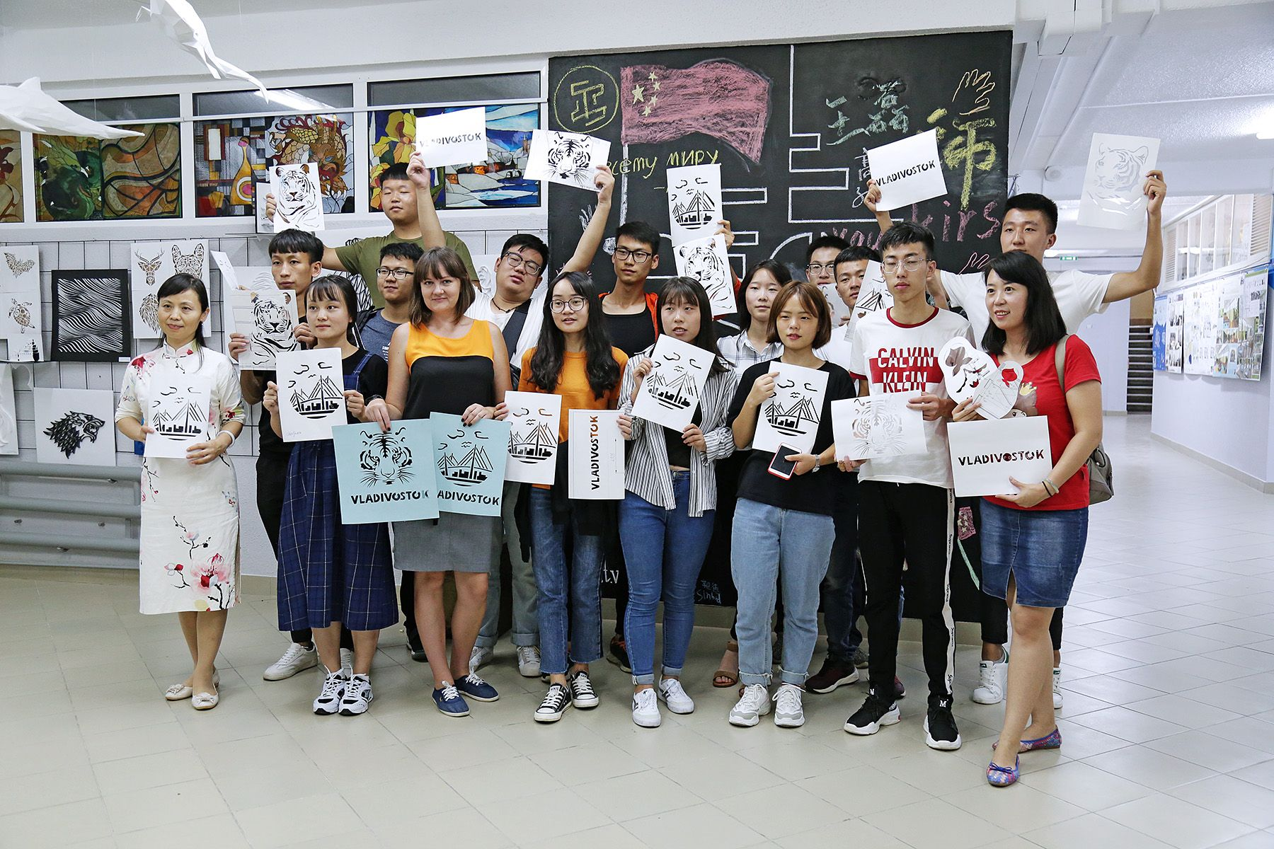 Около 100 иностранцев выбрали Международные летние школы ВГУЭС