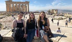 A VSUES Freshman completed an exchange program at the University of West Attica (Greece)