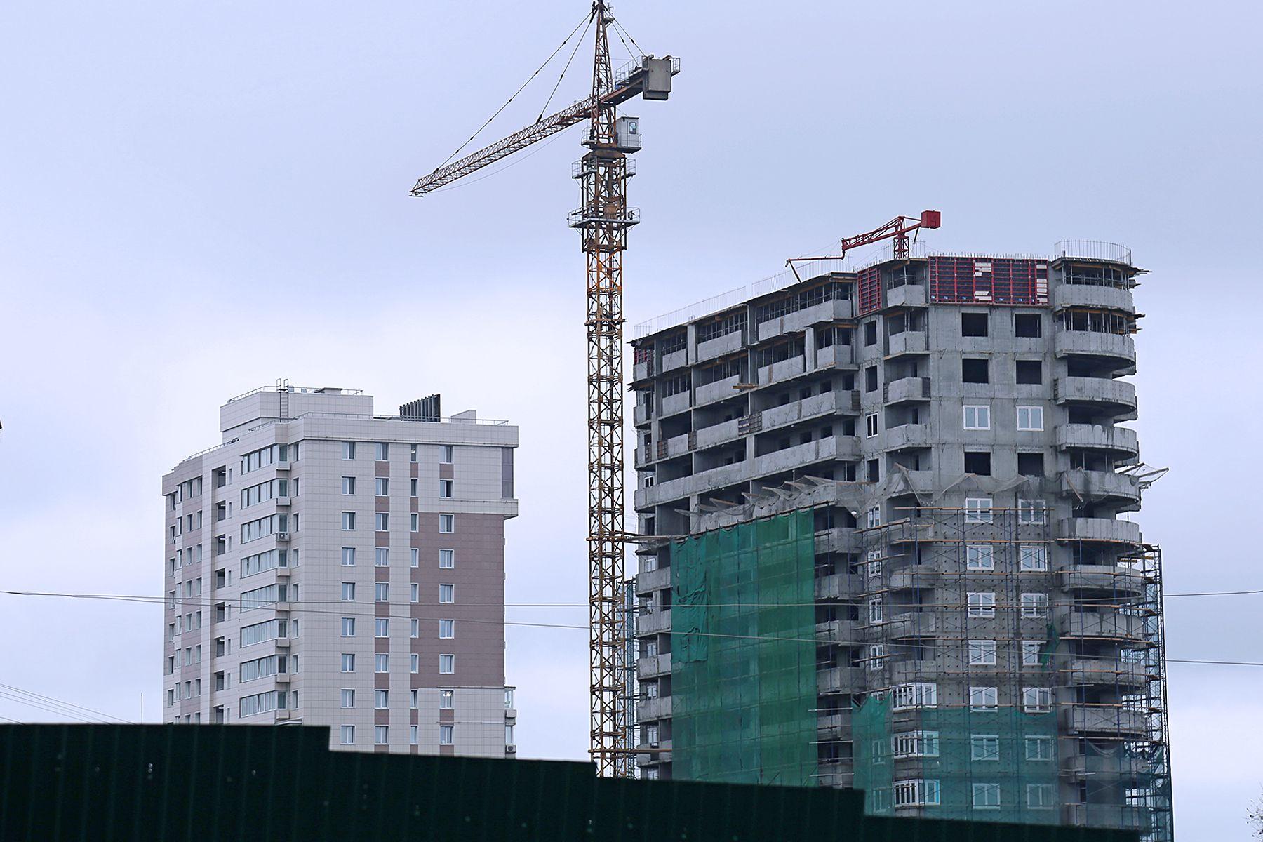 ВГУЭС строит второй 27-этажный дом для преподавателей университета