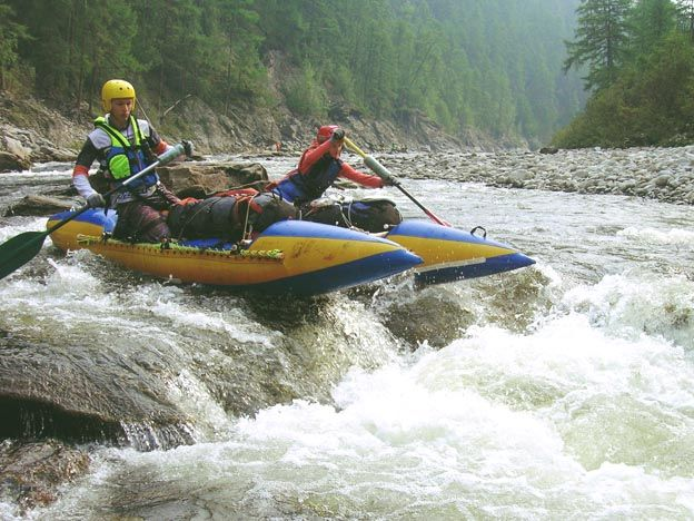 Команда туристического клуба «Сплав» ВГУЭС совершила увлекательный поход по реке Ток