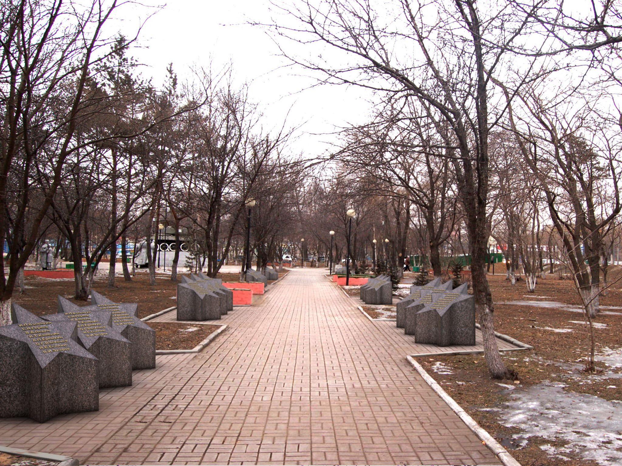 Студенты-дизайнеры ВГУЭС откроют во Владивостоке Аллею звезд