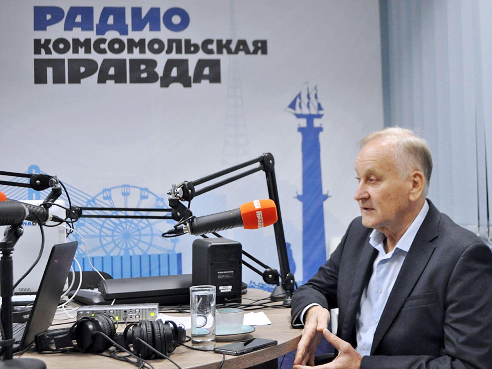 Геннадий Лазарев в эфире радио «Комсомольская правда»: стать лучшим экономическим вузом среди классических университетов — новый вызов ВГУЭС