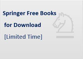 Открыт доступ к электронным книгам издательства Springer!