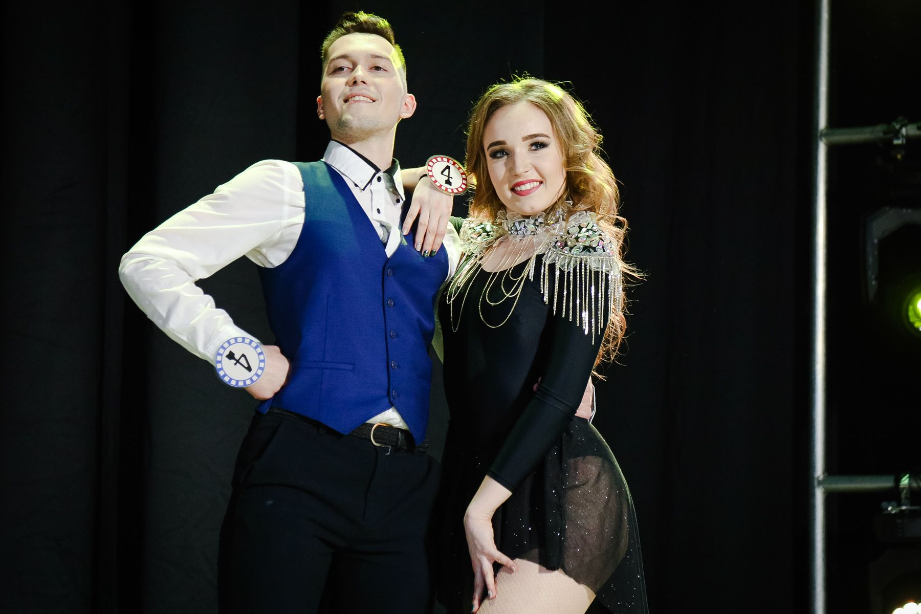Милена Стефанюк и Владимир Елисеев - Мисс и Мистер ВГУЭС 2018