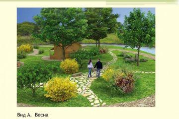 Ландшафтная организация туристической зоны в рекреационном центре массового отдыха в пригороде Уссурийска Приморского края