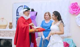 Foreign students of VSUES represent a romantic tale in Russian language