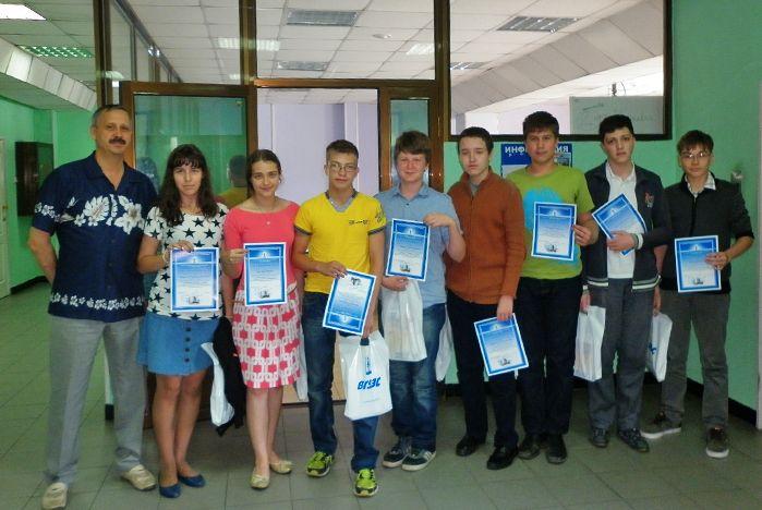 Во ВГУЭС завершилась программа учебно-тренировочных сборов для учащихся города Владивостока