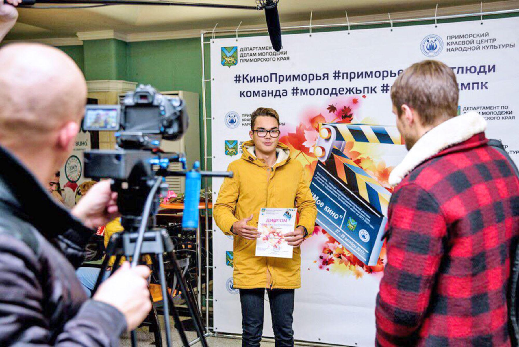 Студенты Высшей школы телевидения ВГУЭС - победители Всероссийского кинофестиваля «Весёлая ларга»