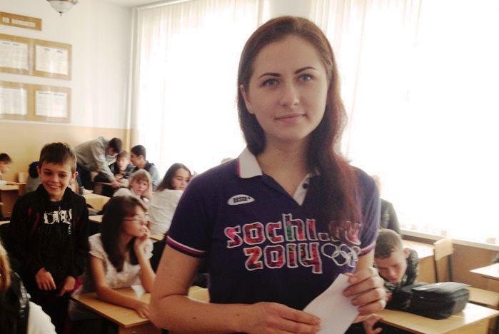 Волонтеры ВГУЭС рассказывают школьникам Владивостока про олимпийские ценности