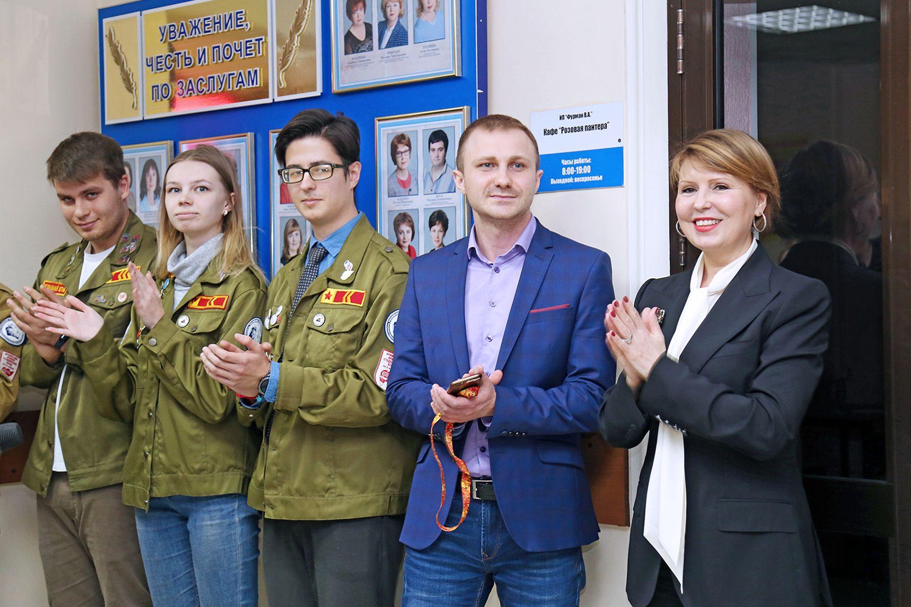 У Штаба студенческих отрядов появился собственный «дом» во ВГУЭС