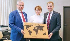 С Татьяниным днем поздравили ректора ВГУЭС руководители Сбербанка